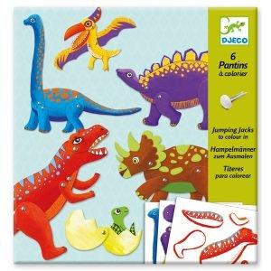 Djeco Dinosaur Jumping Jacks