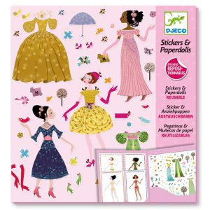 Djeco Through The Seasons Paper Dolls