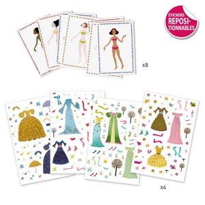 Djeco Through The Seasons Paper Dolls