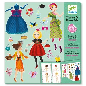 Djeco Massive Fashion Paper Dolls