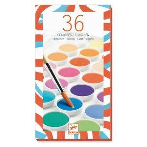Djeco 36 Colour Paint Palette