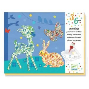 Djeco Paint With Marbles Kit