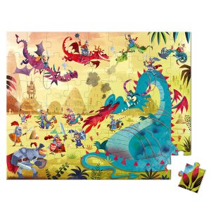 Janod Hatbox Dragon 54pc Puzzle