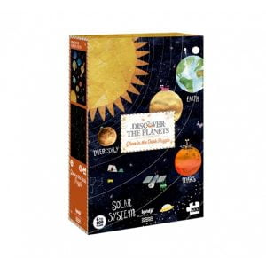 Londji Discover the Planets 200pc Glow in the Dark Puzzle