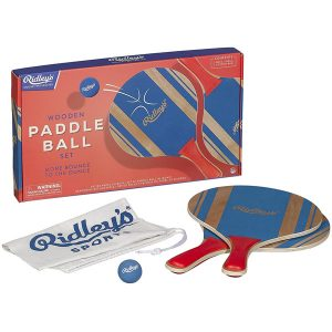 Ridley's Wooden Paddle Ball