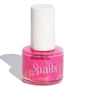Snails Play Washable Nail Varnish Pink Bang
