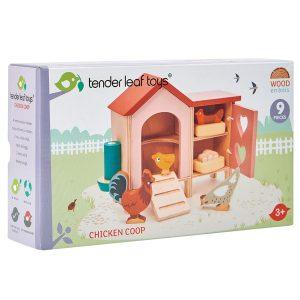 Tender Leaf Chicken Coop