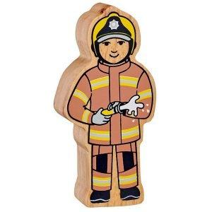 Lanka Kade Wooden People Who Help Us – Firefighter