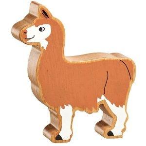 Lanka Kade Wooden Animals – Llama