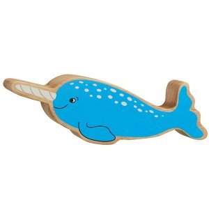 Lanka Kade Wooden Animals – Narwhal