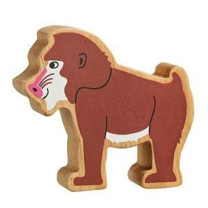 Lanka Kade Wooden Animals – Baboon