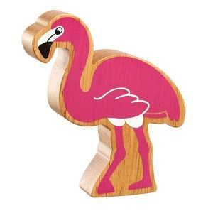 Lanka Kade Wooden Animals – Flamingo