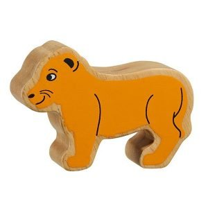 Lanka Kade Wooden Animals – Lion Cub