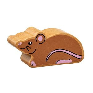 Lanka Kade Wooden Animals – Mouse