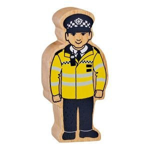 Lanka Kade Wooden People Who Help Us – Policeman
