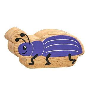 Lanka Kade Wooden Animals – Purple Bug