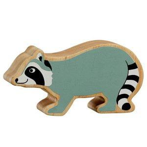 Lanka Kade Wooden Animals – Raccoon