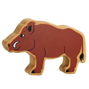 Lanka Kade Wooden Animals – Wild Boar