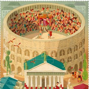 Londji Go To Rome 100pc Puzzle