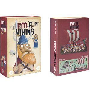 Londji I'm A Viking 100pc Puzzle