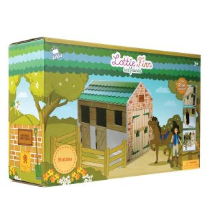 Lottie Doll – Wooden Stables