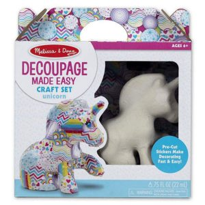 Melissa and Doug Decoupage Unicorn