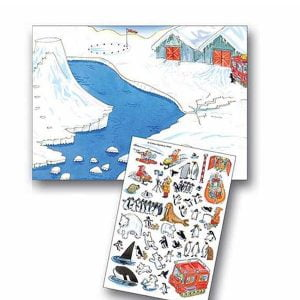 Scribble Down Transfers – Polar Explorer