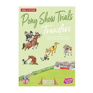 Scribble Down Transfers – Pony Show