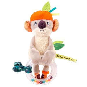Moulin Roty Dans La Jungle Koco Bead Rattle