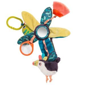 Moulin Roty Dans La Jungle Hanging Leaves Activity Toy