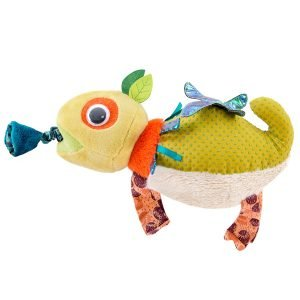 Moulin Roty Dans La Jungle Vibrating Chameleon Toy
