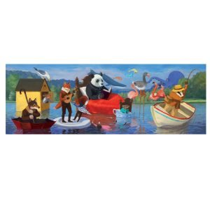 Djeco Summer Lake 350pc Jigsaw Puzzle