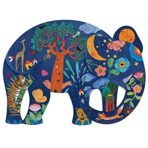 Djeco Puzz' Art Elephant 150pc Jigsaw Puzzle