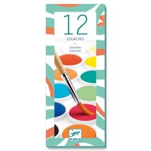 Djeco 12 Gouaches Paints