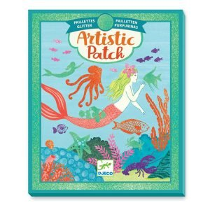 Djeco Artistic Patch Glitter Collages – Ocean
