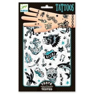 Djeco Tattoos Dark Side