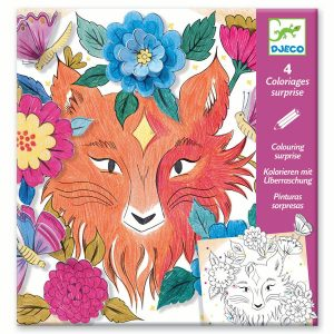 Djeco Colouring Surprise 3D – Forest Friends