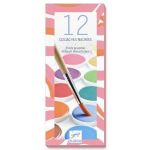 Djeco 12 Pearly Gouaches Paints