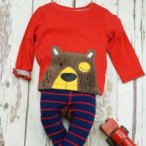 Blade and Rose Long Sleeved Top Brown Bear