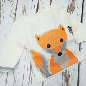 Blade and Rose Long Sleeved Top Fox