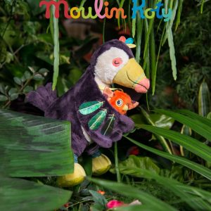 Moulin Roty Dans La Jungle Pakou Musical Soft Toy