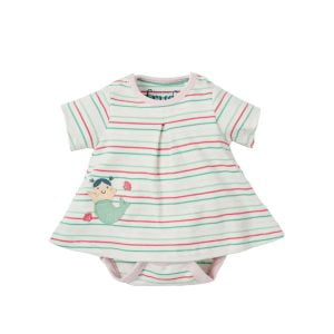 Frugi Sweetpea Body Dress Mermaid