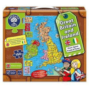 Orchard Toys Great Britain and Ireland Puzzle & Poster