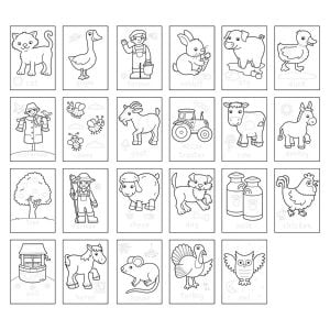 Orchard Toys 1 – 20 Sticker Colouring Book