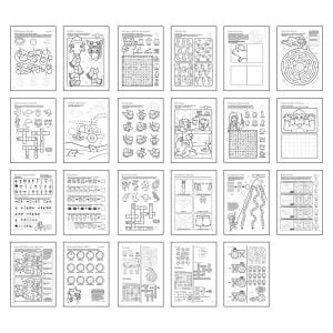 Orchard Toys More Things To Do Colouring Book