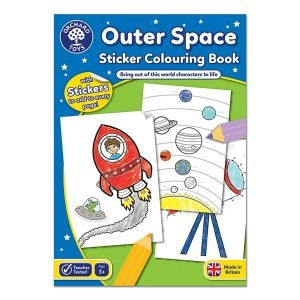 Orchard Toys Outer Space Colouring and Sticker Book