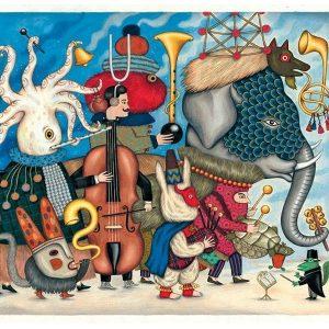 Djeco Fantasy Orchestra Jigsaw Puzzle 500pc