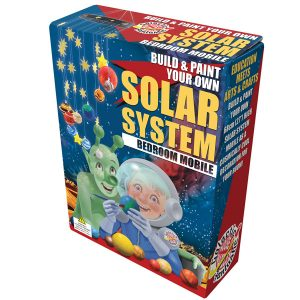 Build and Paint Solar System Mobile