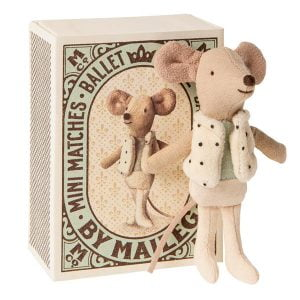 Maileg Dancer in Matchbox – Little Brother Mouse