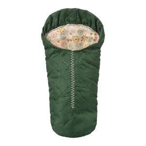 Maileg Green Sleeping Bag – Small Mouse